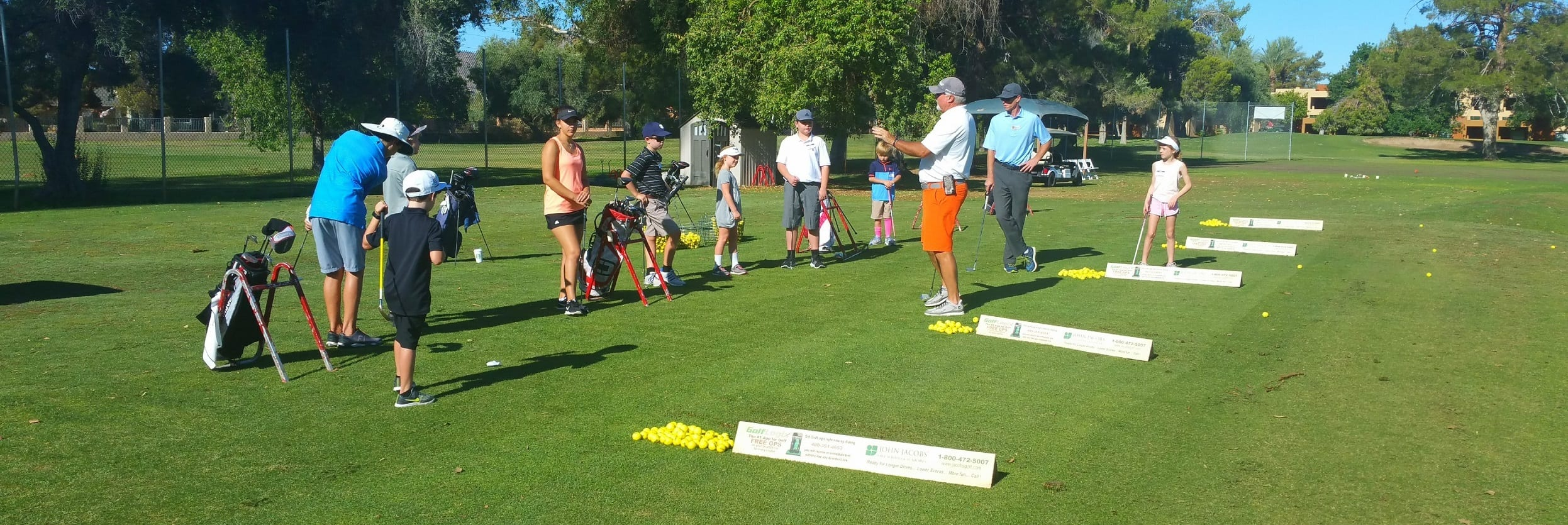Junior Golfers at Orange Tree Golf Club